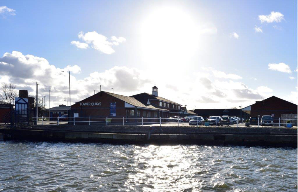 Tower Quays waterfront office space Wirral Waters