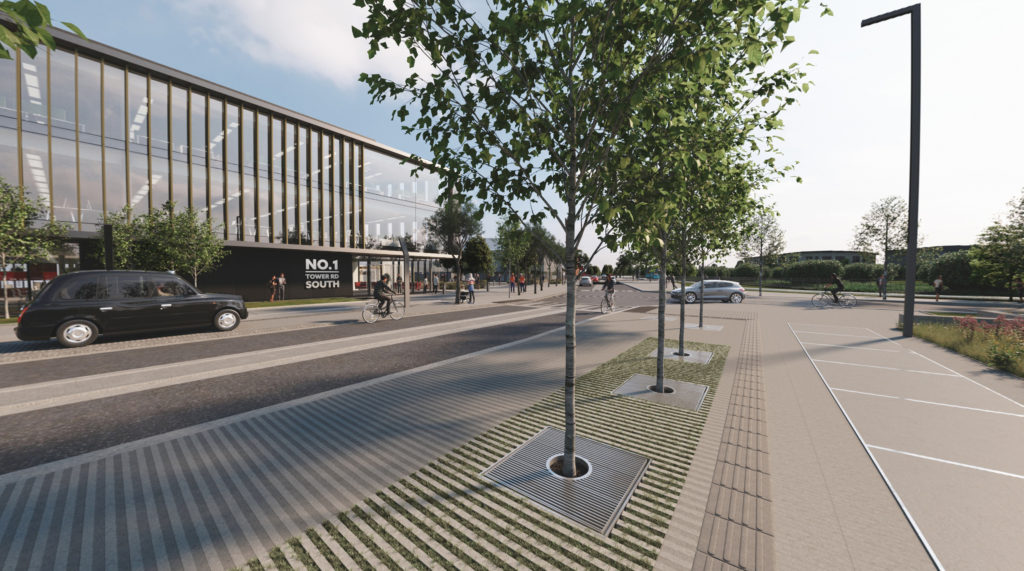Tower Road Streetscape Project