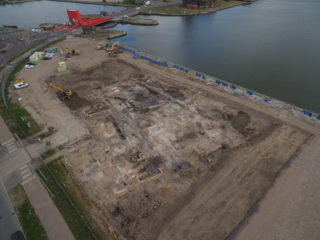 Insights into Wirral's industrial heritage have been unearthed at Wirral Waters