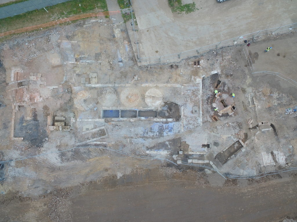 Archaeological investigation at Wirral Waters' Northbank development